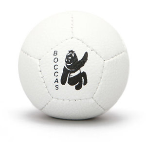 Soft White Boccas Elite Ball
