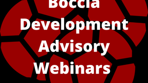Boccia Development Advisory Webinars 2021