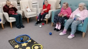 Boccia competition in care homes across North East England!