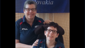 A mother and daughter's shared passion for boccia